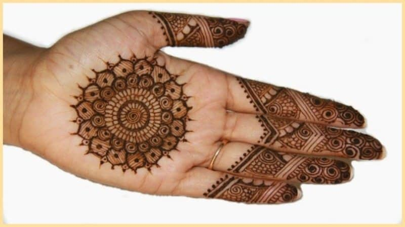 How to Clear Fading Mehendi ! 10