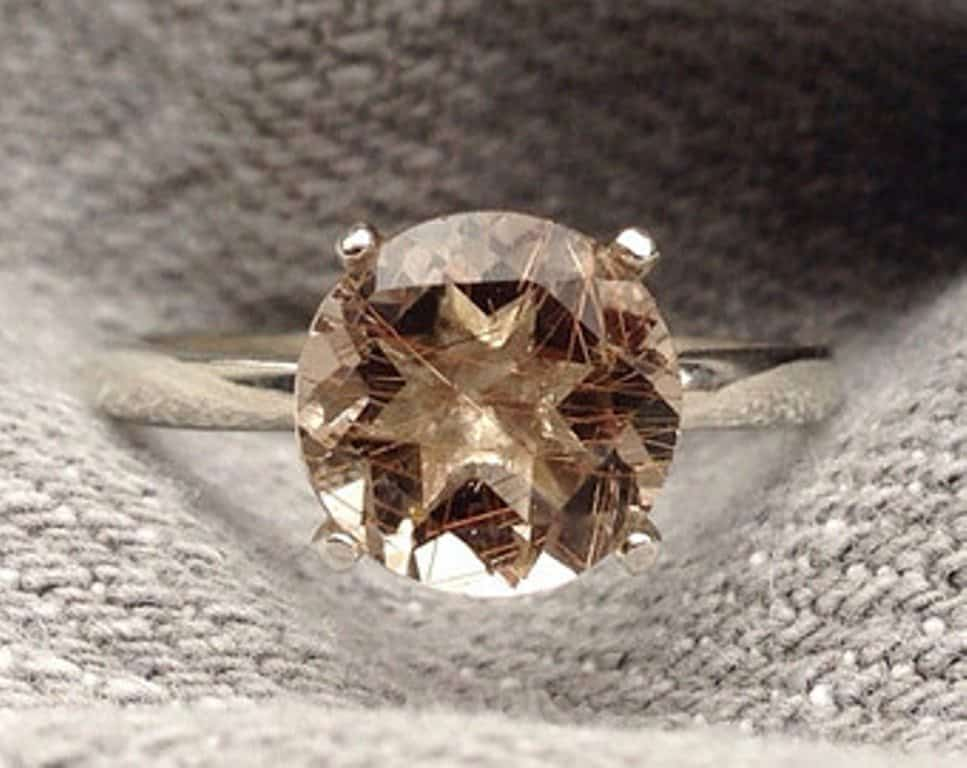 12 Awesome Non Diamond Engagement Rings You Will Go Awww Over 8