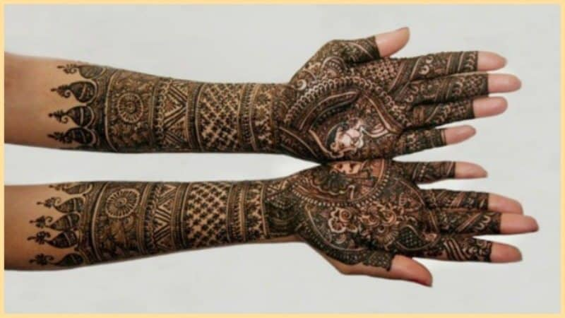 How to Clear Fading Mehendi ! 9