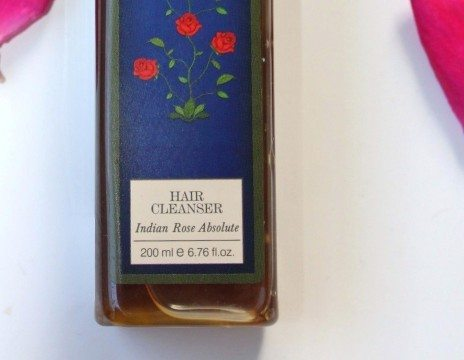 Forest Essentials Rose Absolute Shampoo Review details