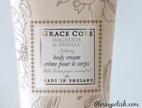 Grace Cole Vanilla Magnolia Cream Review