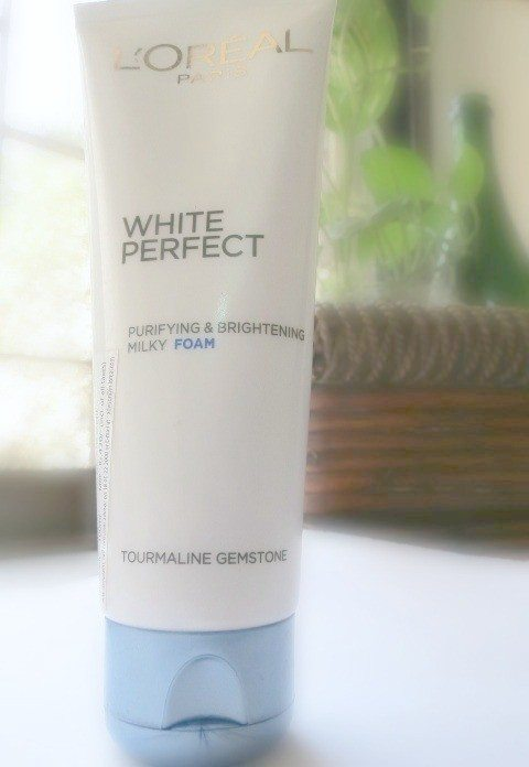 L'Oreal Paris White Perfect Purifying and Brightening Milky Foam Review