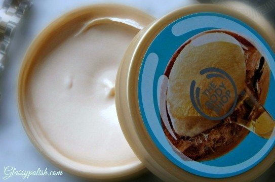 The Body Shop Wild Argan Body Butter Review lid open