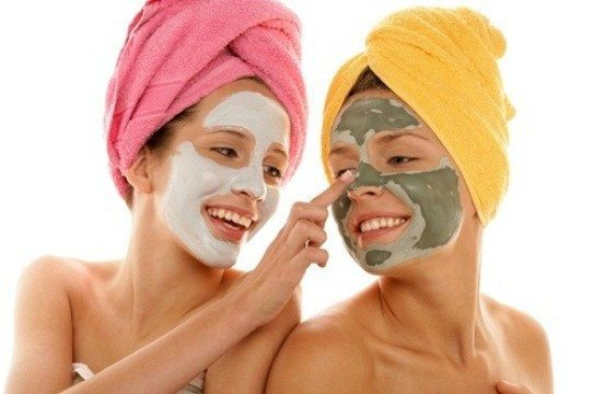 basic skin care routine face mask