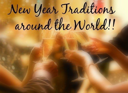 16 Fun New Year Traditions Around The World!