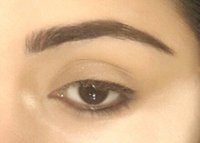 Gold and Green Smoky Eye Party Look Tutorial 5