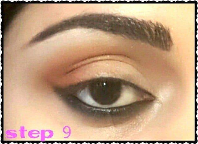 Day Time Soft Peachy Eye Makeup Tutorial