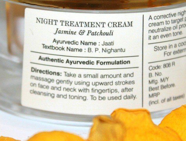 Forest Essentials Night Treatment Cream Jasmine & Patchouli Review 3