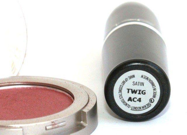MAC Twig Lipstick Review