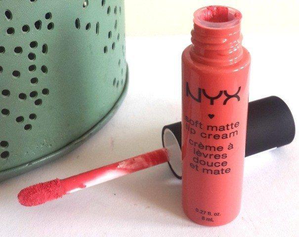 NYX Soft Matte lip Cream 05 Antwerp Review 4