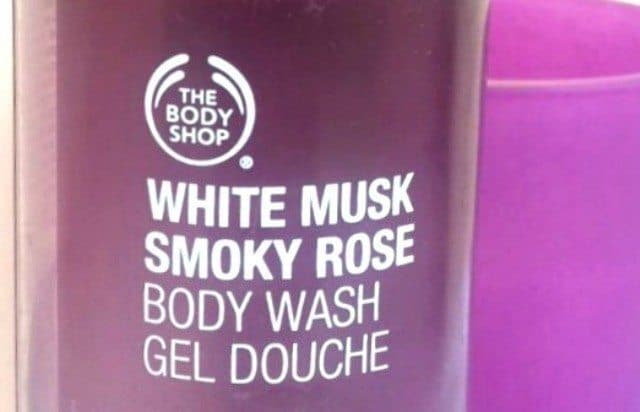 he Body Shop White Musk Smoky Rose Body Wash Review 4