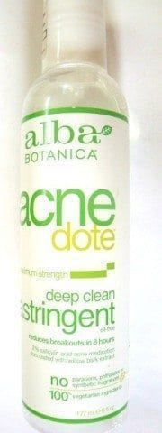 Alba Botanica Acne Dote Deep Clean Astringent Review