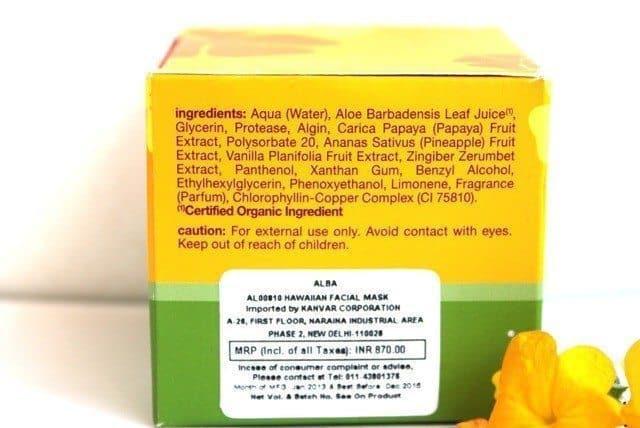 Alba Botanica Papaya Enzyme Masque Review 3
