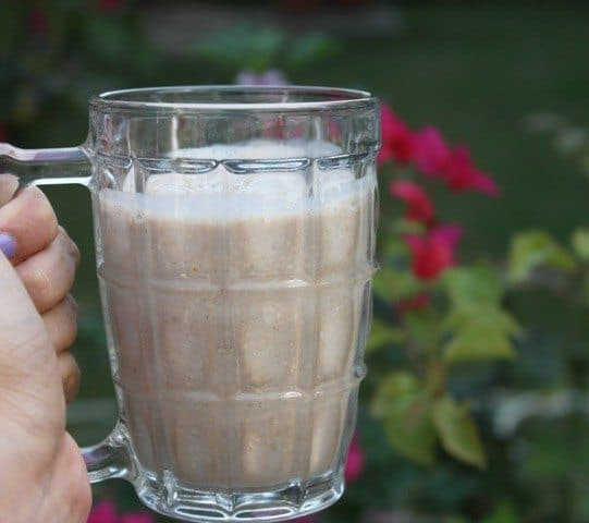 Banana smoothie recipe with oats 5