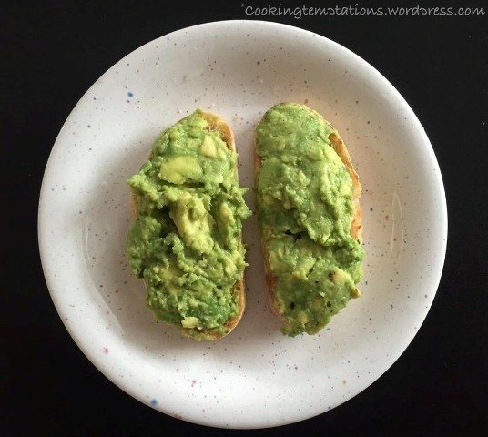 Butter Fruit Avocado Recipies - The one with the Fried Egg 2