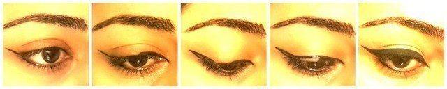 Easy Winged Eye Liner Tutorial