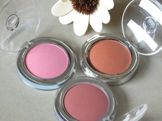 The Body shop ALL IN ONE CHEEK COLOR REVIEW AND SWATCHES 3