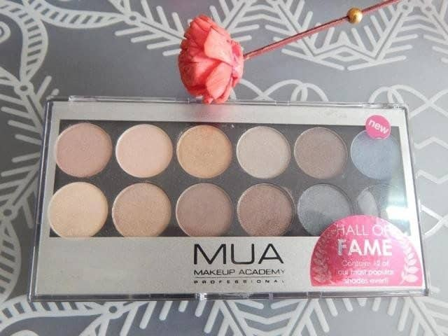 MUA Hall of Fame Eyeshadow Palette Review