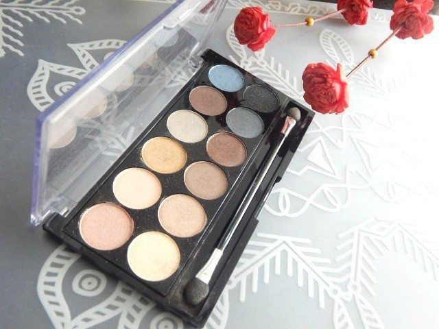 MUA Hall of Fame Eyeshadow Palette Review 1