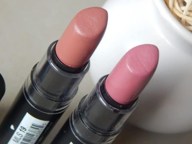 NYX MATTE LIPSTICK Eurotrash and Natural review and swatches 4