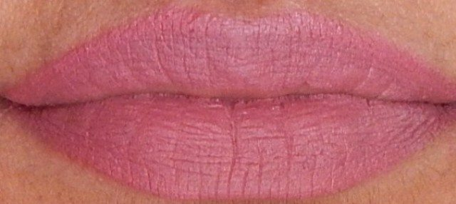 NYX MATTE LIPSTICK Eurotrash and Natural review and swatches 8