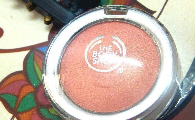 The Body Shop All in One Blusher Ginger 02 Review