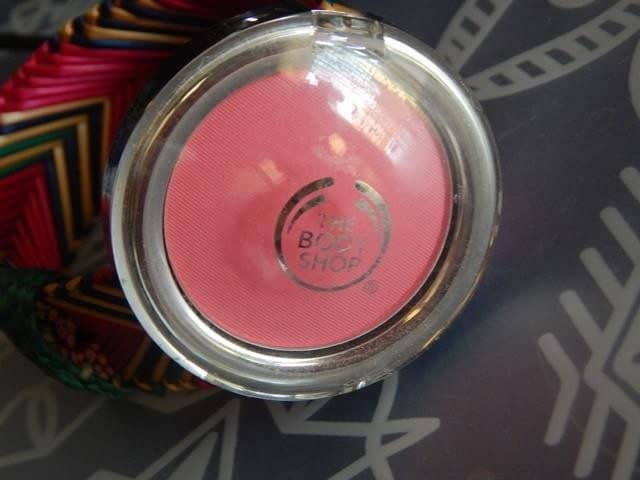 The Body Shop All in One Cheek Color Guava Review 6