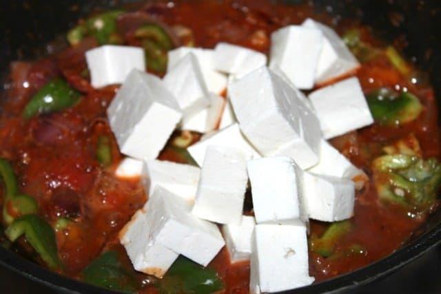 10 Minute Kadhai Paneer Recipe 5