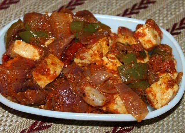 10 Minute Kadhai Paneer Recipe 6