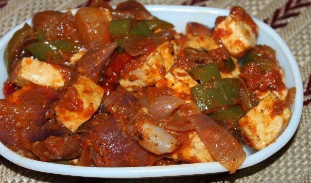 10 Minute Kadhai Paneer Recipe 7