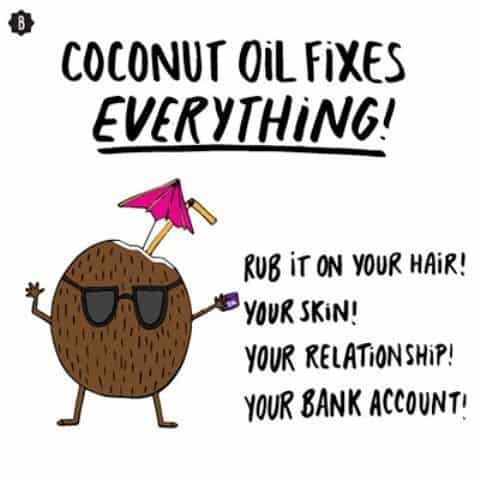 Coconut oil skincare miracle 3
