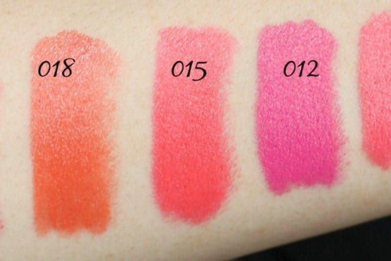 Colorbar Take Me as I am Lipstick Swatches 1