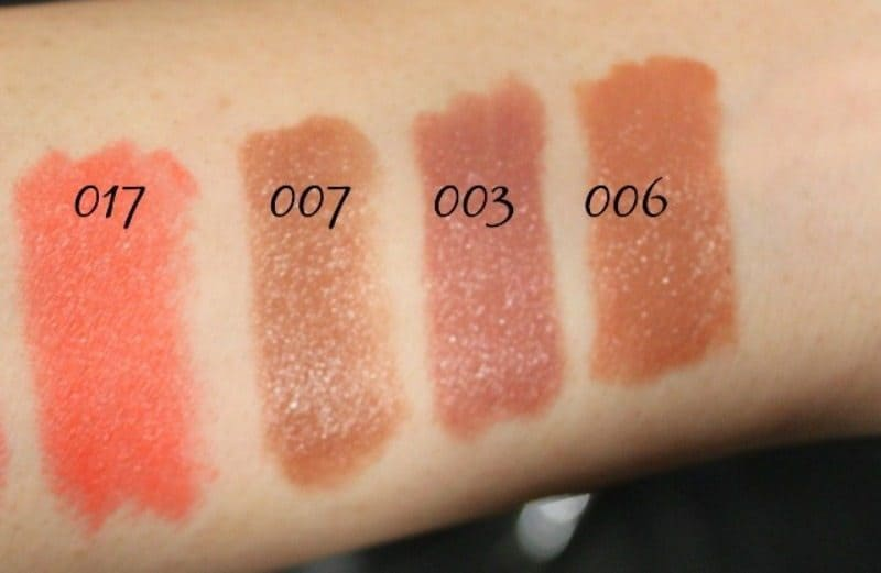 Colorbar Take Me as I am Lipstick Swatches 4