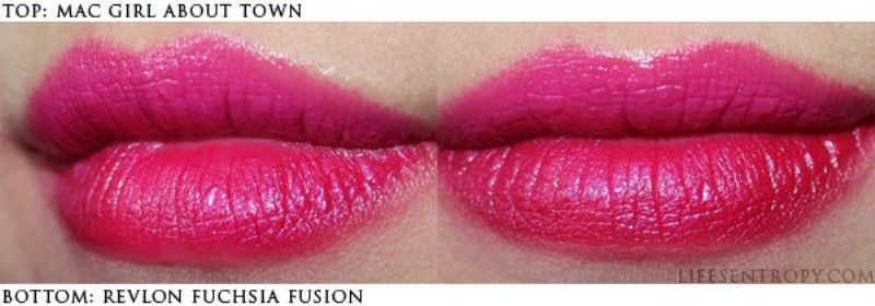 Pricey Makeup Cheap dupes ;)   Q8 Mango People   Mac Girl About Town Dupe