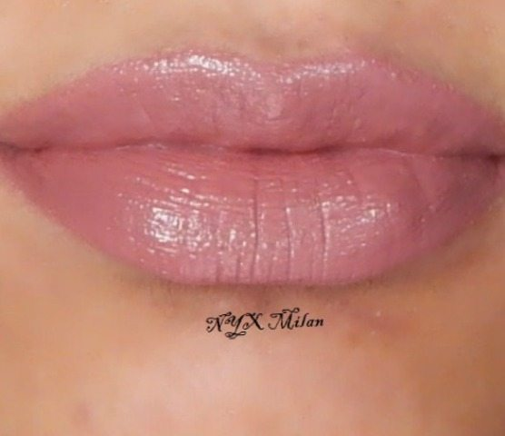 NYX Round Lipstick Cocoa, Raisin and Milan Reviews and ...