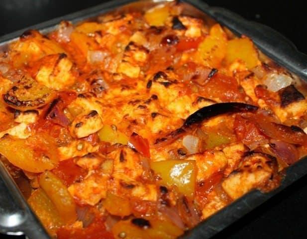 Paneer Tikka Masala Recipe 16