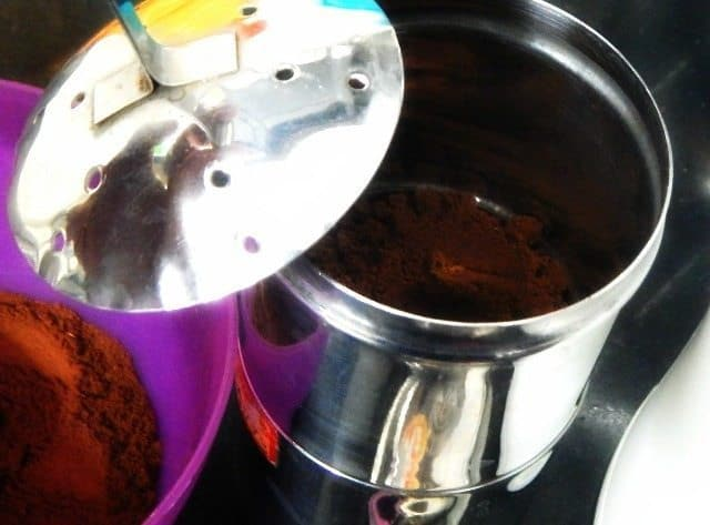 South Indian Filter Coffee Recipe 1