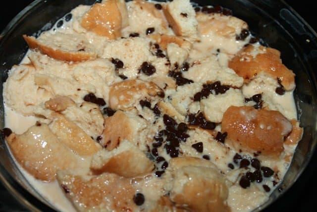 caramel bread pudding recipe