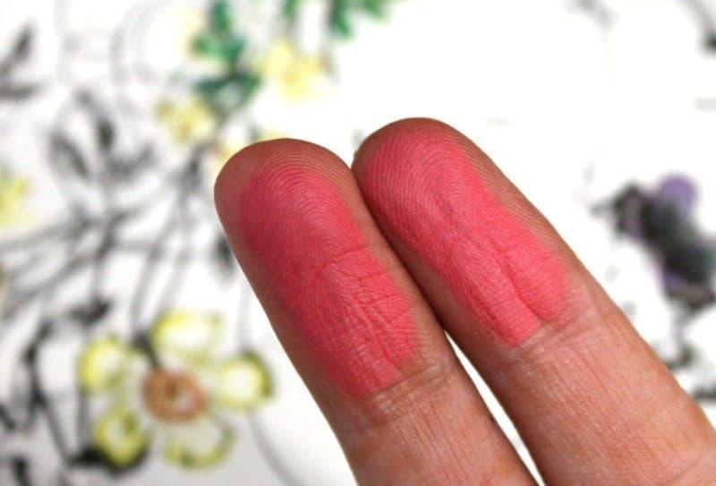 colorbar luminous rouge blush luminous rose review 4