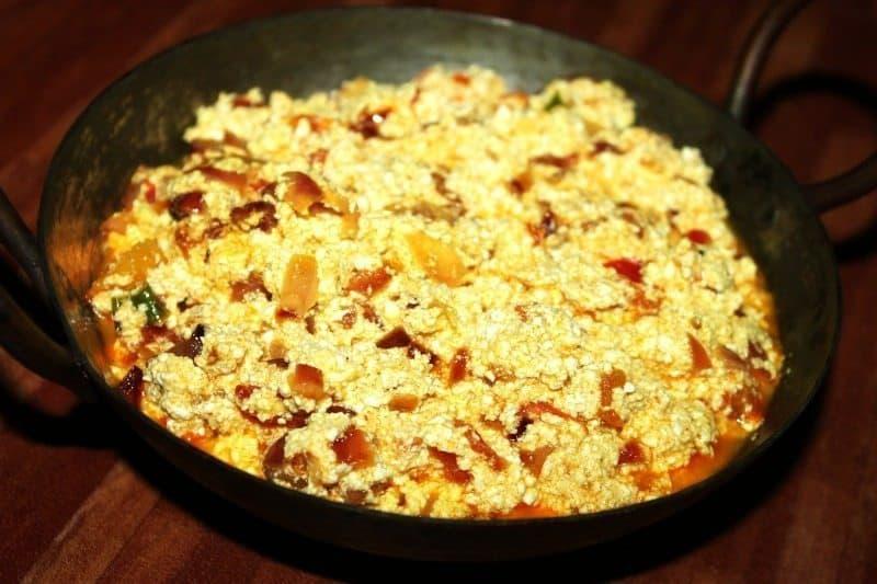 Amritsari Paneer Bhurji Recipe