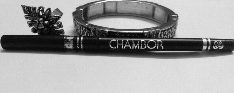 Chambor Stay On waterproof eyeliner pencil review and swatches