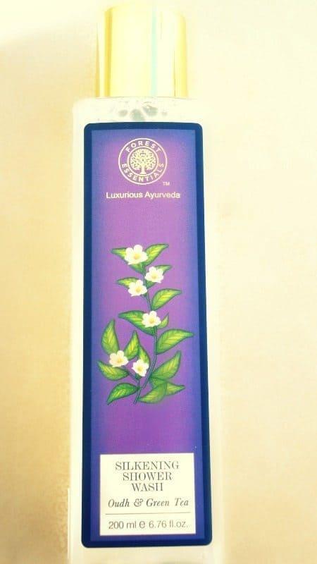 Forest essentials green tea oudh silkening shower wash review 1
