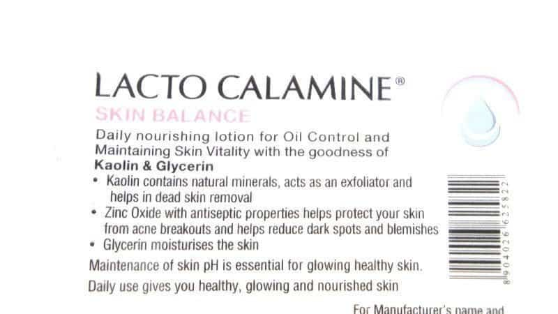 Lacto Calamine Skin Balance Oil Control Lotion Review 3