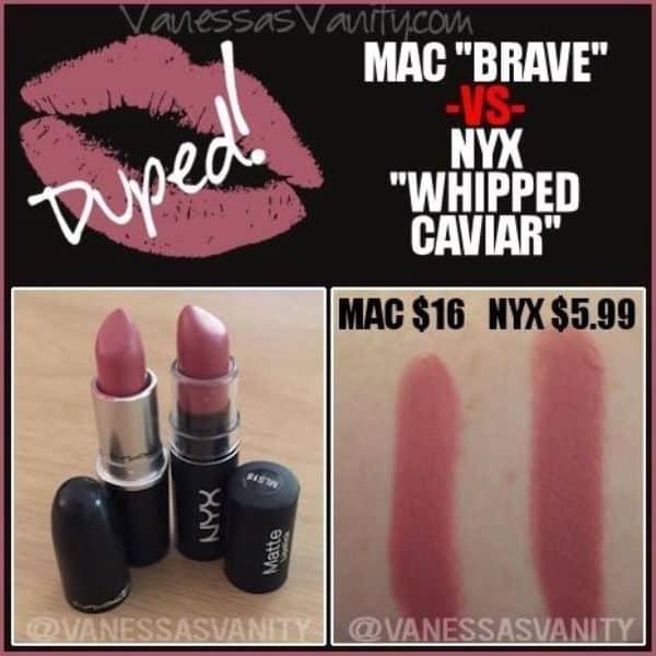 MAC Brave Dupes 2