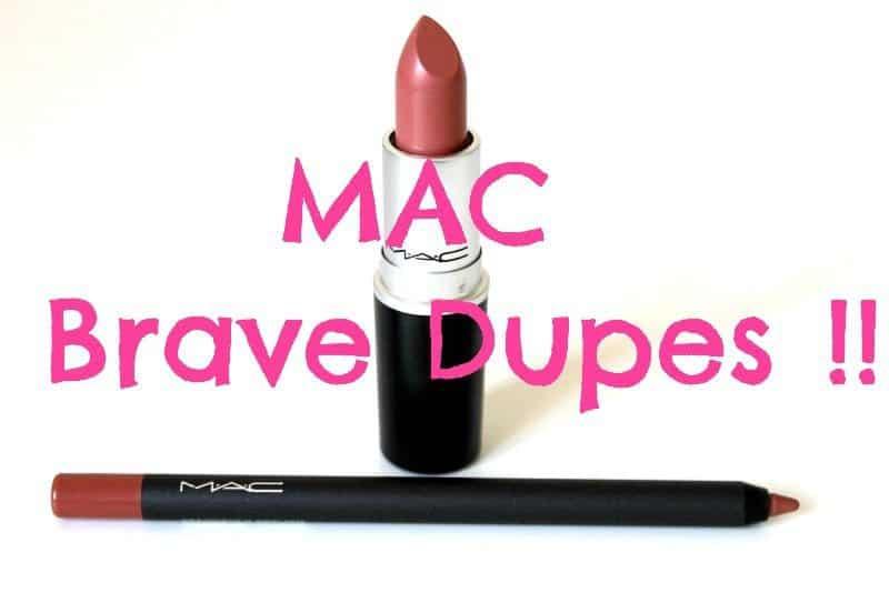 MAC Brave Dupes 4