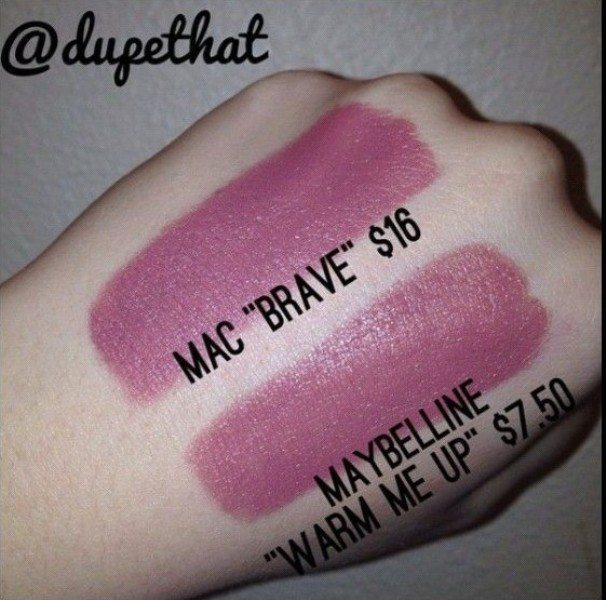 MAC Brave Dupes 1