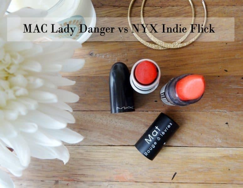 MAC Lady Danger Dupes 4