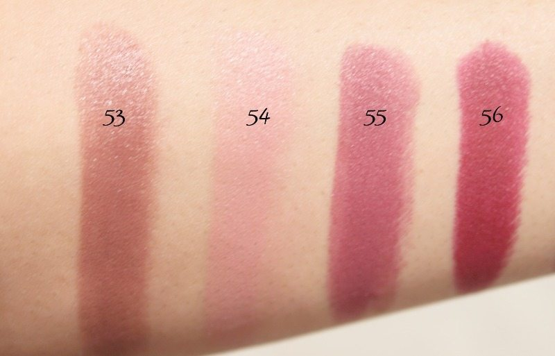MAC Lipstick Swatches 15
