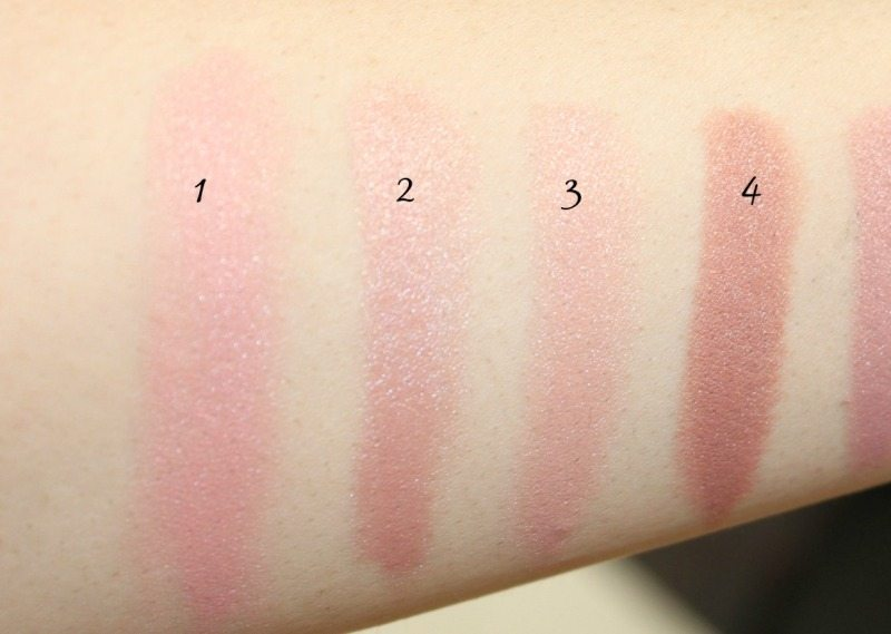 MAC Lipstick Swatches 2