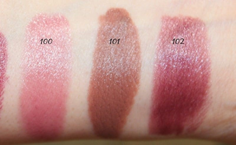 MAC Lipstick Swatches 27